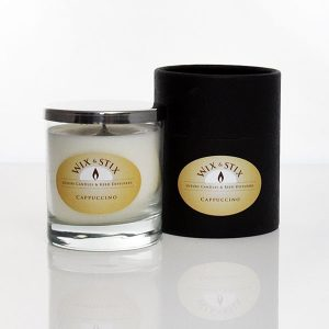 cappuccino luxury soy wax candle