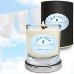 Fresh Linen candle woodwix