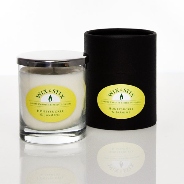 honeysuckle and jasmine soy wax candle