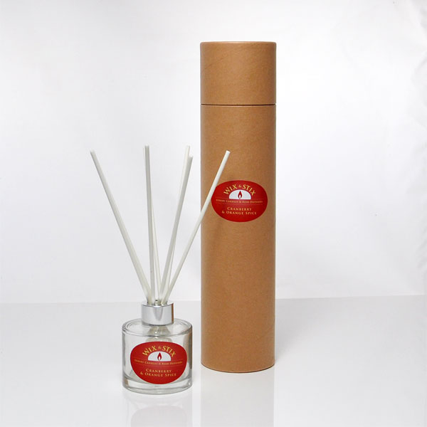 cranberry and orange spice reed diffuser christmas