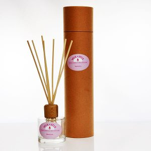 luxury reed diffuser freesia clear