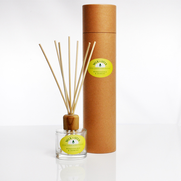 honeysuckle and jasmine clear reed diffuser