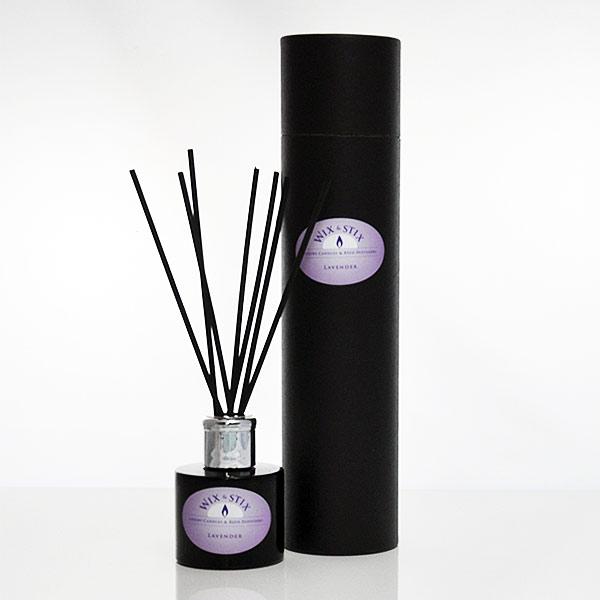 luxury reed diffuser lavender black
