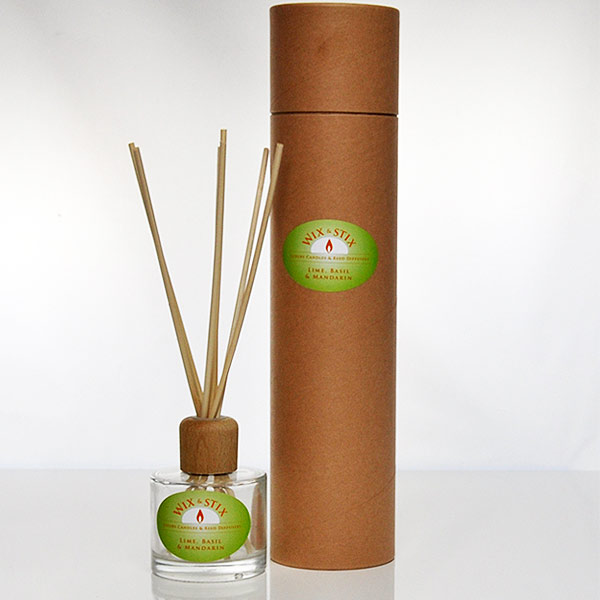 lime basil and mandarin clear diffuser
