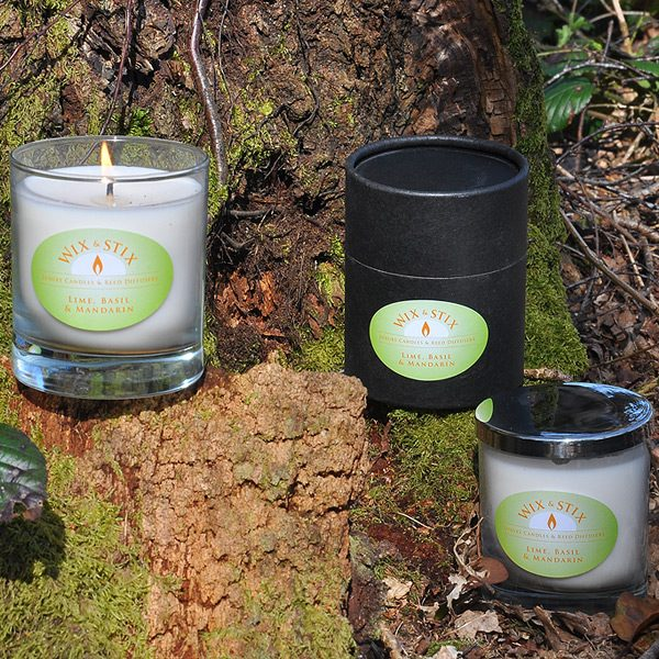 lime basil and mandarin candle