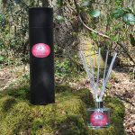 sage and pomegranate reed diffuser clear