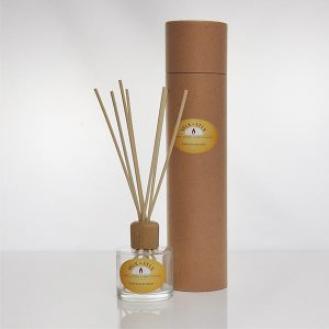 sandalwood clear luxury reed diffuser
