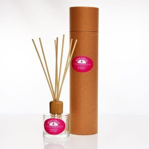 tuberose and peony clear reed diffuser