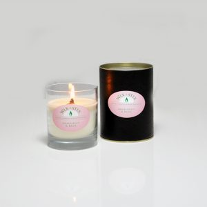 woodwix candle grapefruit and basil