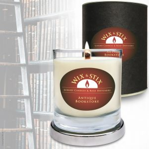 Soy Wax Antique Bookstore Candle