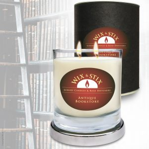 Soy Wax Antique Bookstore DoubleWix Candle