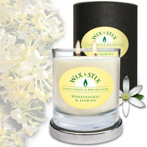 Soy Wax Honeysuckle & Jasmine Candle