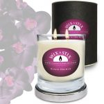 Black Orchid Soy Wax DoubleWix Candle
