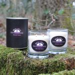 orchid noir luxury soy wax candle
