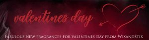 valentines day page header