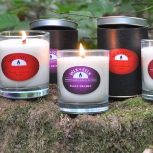 candle woodwix black orchid