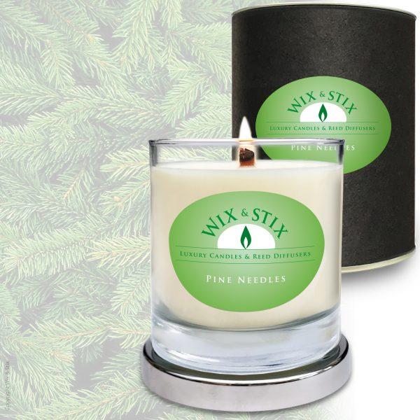 Pine Needles Candle