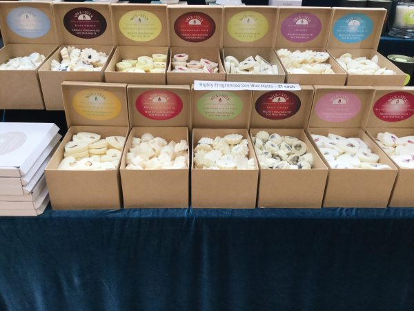 soy wax melts highly fragranced