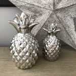 Silver Pineapple Large
