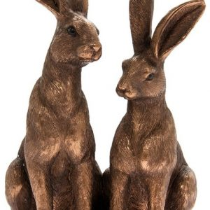 Bronzed Sitting Hares