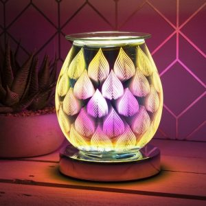 Electric Wax Melter Desire Aroma Lamp Flames