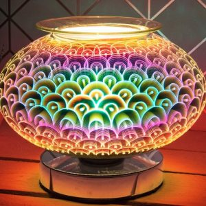 Electric Wax Melter Round Desire Aroma Lamp Orb