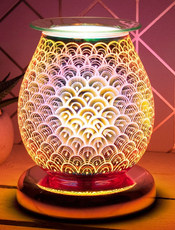 Electric Wax Melter Rose Gold Desire Aroma Lamp Orb