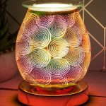 Electric Wax Melter Rose Gold Desire Aroma Lamp Weave