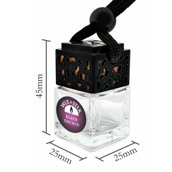 Black Orchid Car Diffuser Dimensions