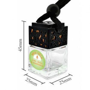 Lime Basil Mandarin Car Diffuser Dimensions