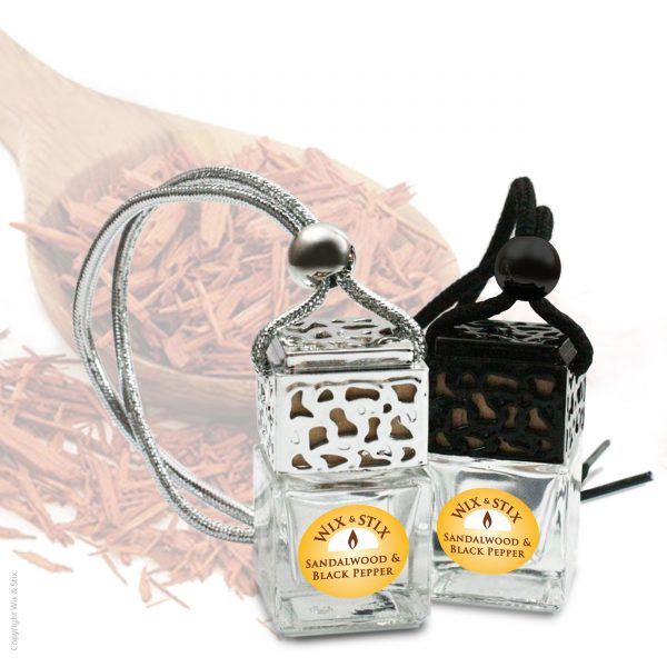 Sandalwood & Black Pepper Car Diffuser