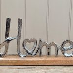 Aluminium Home Ornament 30cm