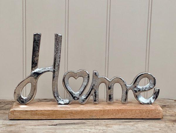Aluminium Home Ornament 30cm