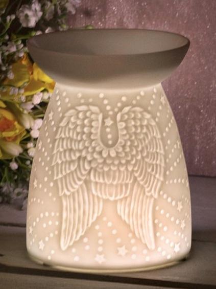 Angel Wings Ceramic wax melter